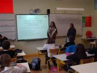 Tence : les actions de tri des déchets expliqués par des collégiens aux écoliers