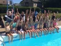 Tence : les écoliers de l'Ensemble Saint-Martin dans le grand bain