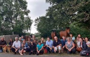 Saint-Pal-de-Mons : une visite au Buisson pour parler de l'aide régionale pour les centres équestres