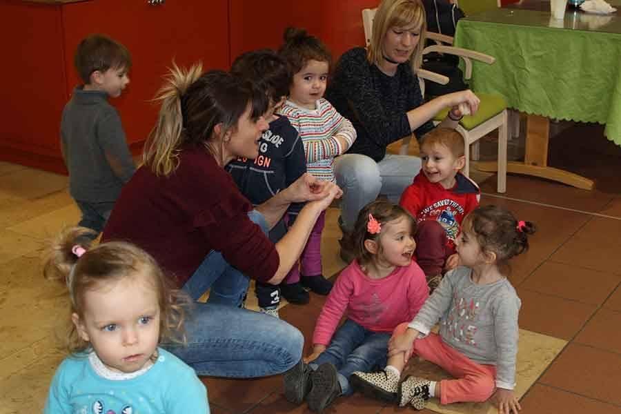 Bas-en-Basset : les crêpes pour réunir les bambins et les aînés