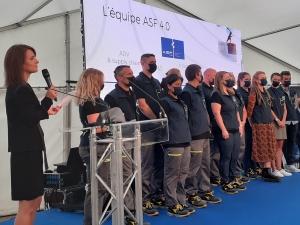La production de chaussures de sport made in Ardèche
