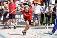 Sainte-Sigolène : Aurélien Souveton défend son titre avec l'équipe de France de boules lyonnaises