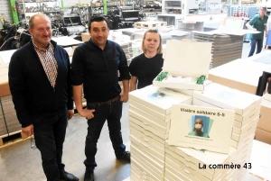 Saint-Just-Malmont : 1 000 visières de protection à distribuer sur la commune