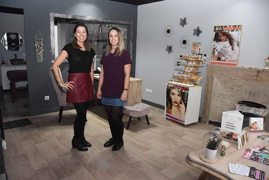 Amanda Kim et Justine Grange