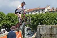 Le Puy : deux Français au sommet du VTT Trial européen
