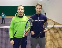 Rémi Daubord (à gauche) et Nicolas Bourret