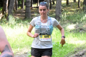 Camille Guy, 1re sur 24 km