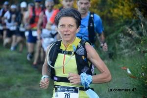 Valérie Bresson, 1re sur les 55 km