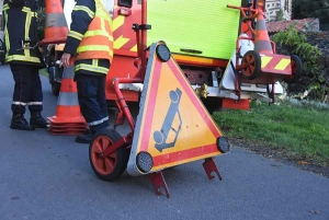 Saint-Paulien : un motard chute lors d'un dépassement