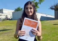 """Myriam Benyahya de Saint-Julien-du-Pinet, mention """"très bien"""" et félicitations du jury avec 18,58 de moyenne"""