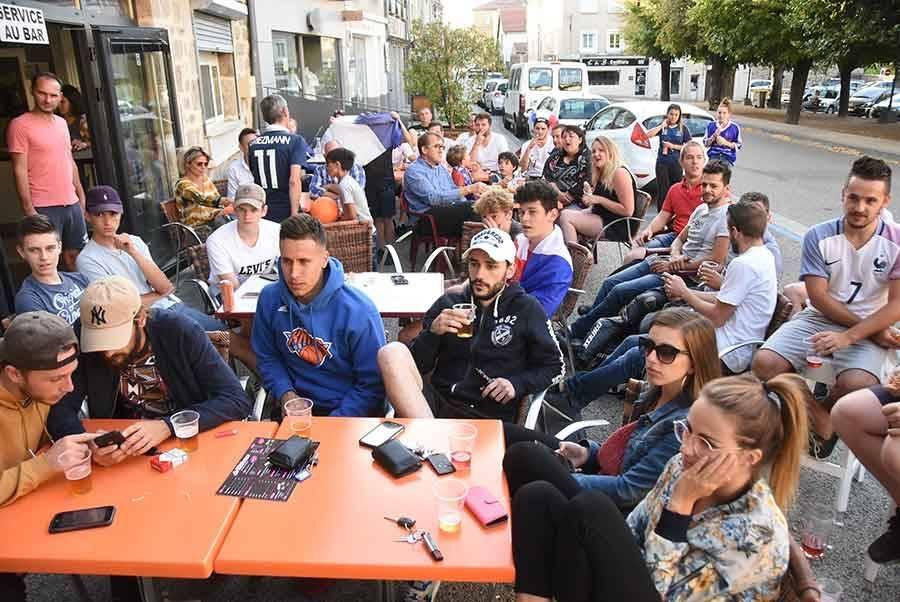 Les Bleus font vibrer leurs supporters en Haute-Loire