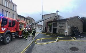 Saint-Didier-en-Velay : l'atelier du fleuriste part en fumée