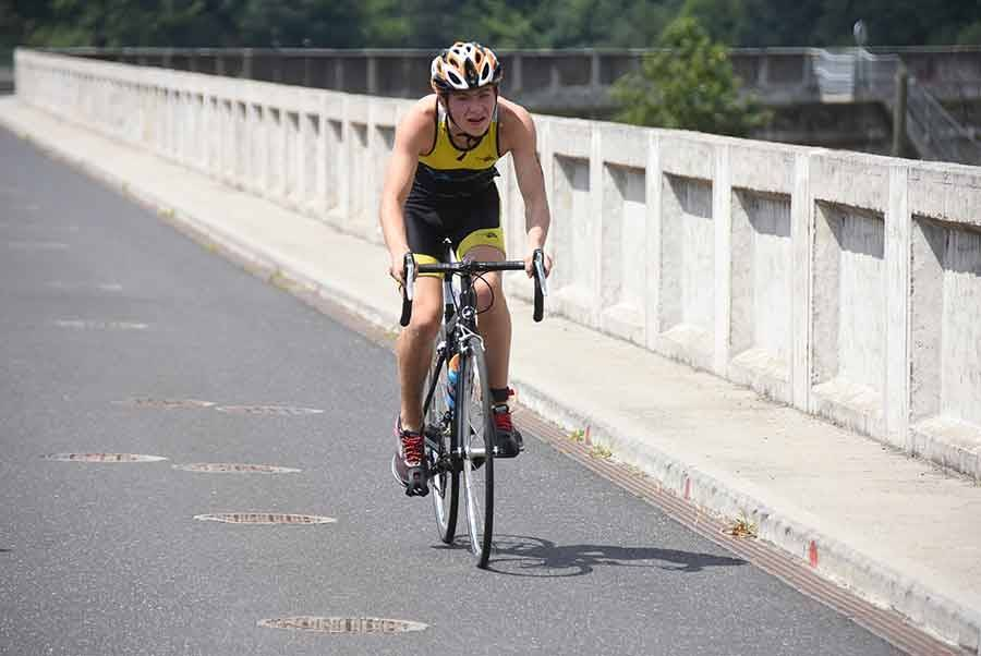 """Triathlon des Sucs : Antoine Perbet s'impose sur le format """"XS"""""""
