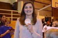La handballeuse Blandine Dancette rencontre ses jeunes fans