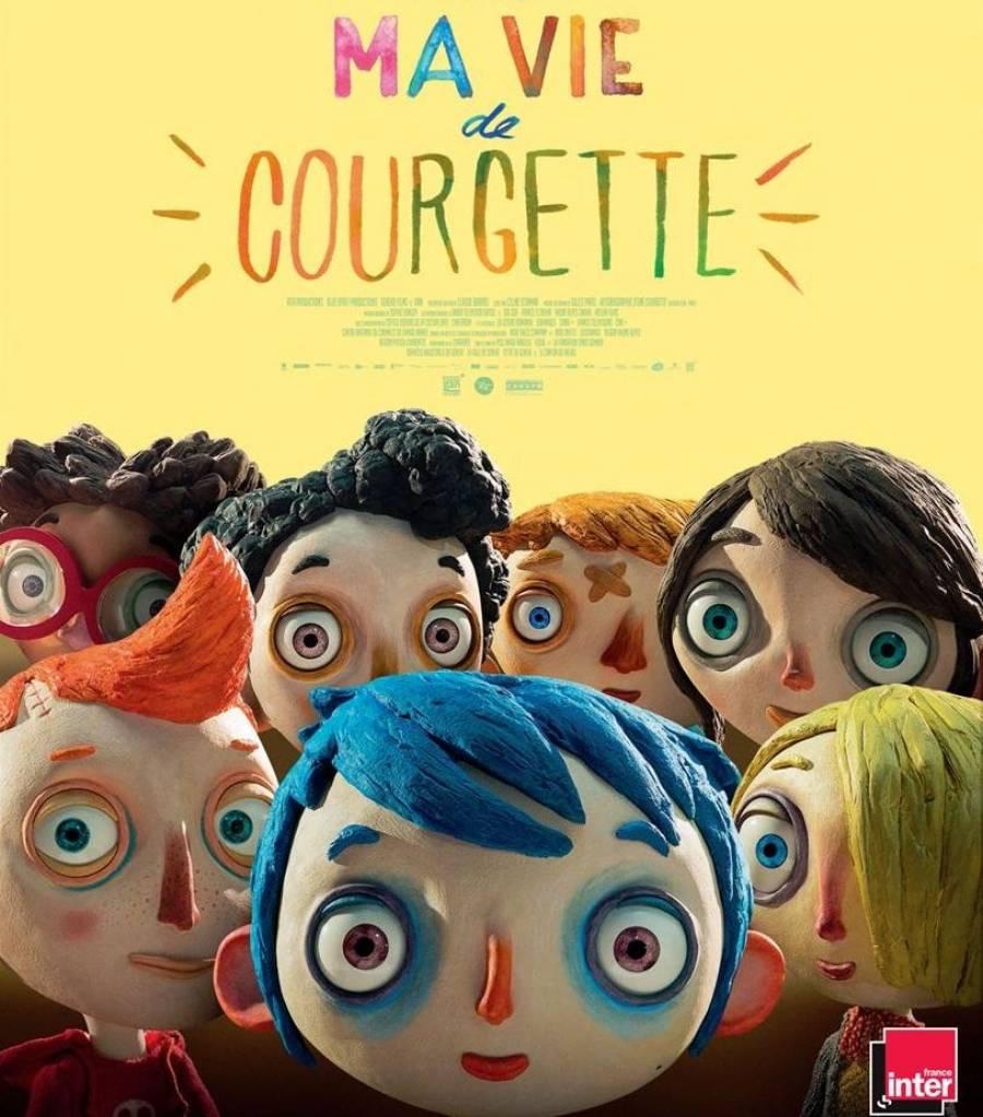 """Le film """"Ma vie de courgette"""" projeté jeudi 28 décembre à Saint-Agrève"""