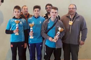 Trois sigolénois champions de la Haute-Loire de pétanque