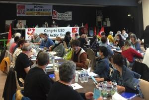 L'union départementae CGT Santé et Action Sociale 43 en congrès
