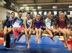 Gymnastique   trois médailles d or et une d argent pour Yssingeaux en zone  Centre France 5c3a7a71a69