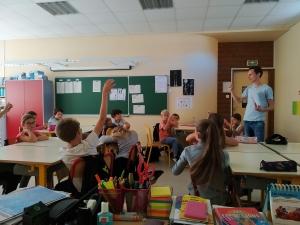 Retournac : les bons gestes éco-citoyens expliqués aux écoliers