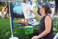 Bas-en-Basset : des artistes peignent en direct ce samedi dans le parc