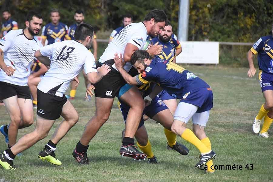Rugby : Tence chute à Culin