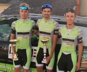 Cyclisme : une victoire de plus pour Quentin Rongère de l'UC Puy-en-Velay