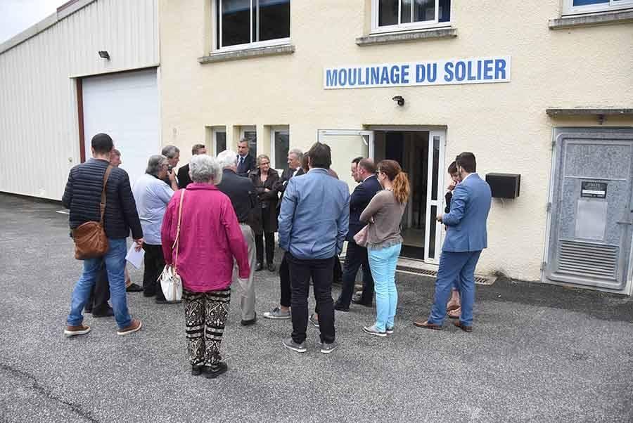Dunières : le Moulinage du Solier invente le fil intelligent de demain