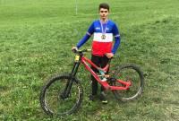 VTT : Jérémy Langlade champion de France de descente en junior
