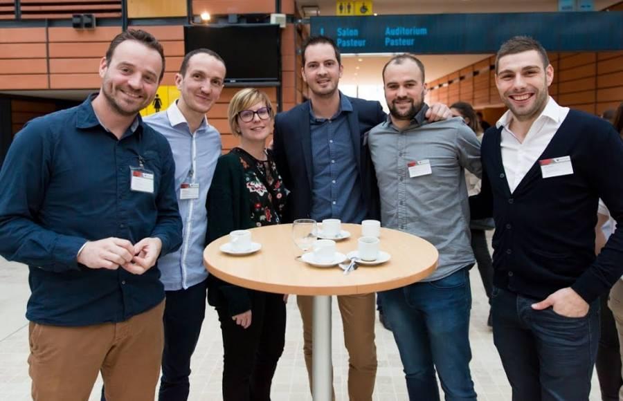 Simon Fourcade (à gauche) a créé cette société en 2013.