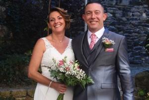 Mariage : Virginie et Jérôme à Saint-Maurice-de-Lignon