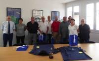 Des bénévoles honorés par le District de foot de la Haute-Loire
