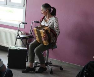 Yssingeaux : un air d'accordéon à l'hôpital Jacques-Barrot