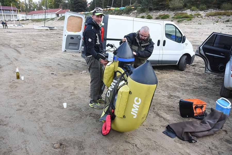 Soixante-dix poissons pêchés dans le barrage de Lavalette