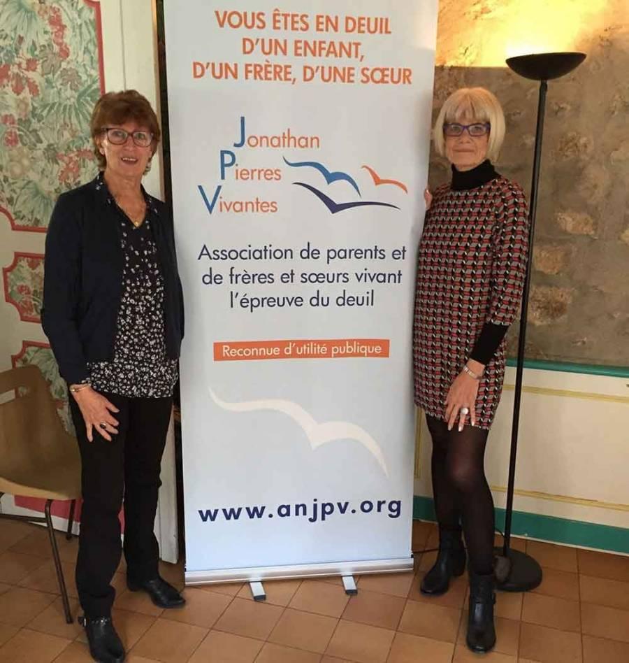 Michele Turin la vice-présidente et Isabelle Maisonneuve-Martin, la présidente.