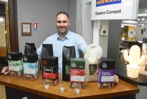 Sainte-Sigolène : Yann Houzé se lance dans la commercialisation de café à domicile