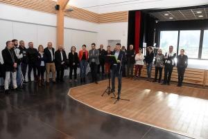 La Séauve-sur-Semène : Bruno Marcon, la candidature en chansons