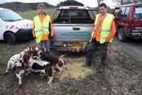 Saint-Julien-Chapteuil : Alexandre Devidal remporte le concours avec ses chiens de meute