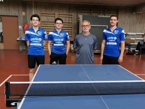 Tennis de table : Yssingeaux de retour à la compétition après 6 mois d'arrêt