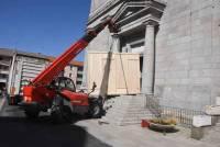 Yssingeaux : un immense tableau de l'église prend la route pour Versailles