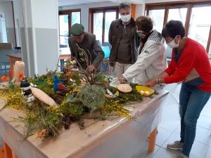 Saint-Julien-Molhesabate : une expo appréciée de l'atelier sculpture