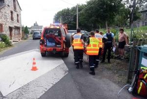 Araules : un jeune pilote chute de moto dans le Meygal