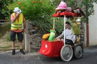 Saint-Vincent : les fous du volant pour la course de voitures à pédales