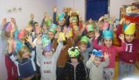 Des têtes couronnées à l'école publique de Monfaucon-en-Velay