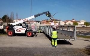 Brives-Charensac : la passerelle d'Audinet remise en service sur la Loire