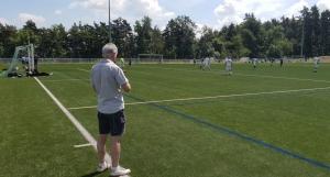 Saint-Ferréol-d'Auroure : premier tournoi de foot de l'année au stade