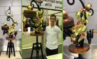 Yssingeaux : le chef pâtissier Amaury Lafonta remporte un concours international