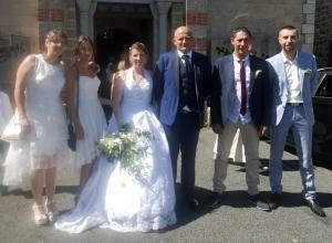 Carnet blanc : Isabelle et Eddy à Grazac