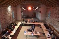 Mézenc Meygal : le conseil communautaire se réunit… dans une église