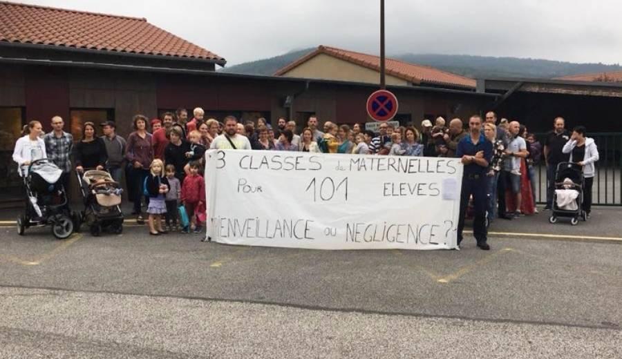 Beauzac : un demi-poste supplémentaire réclamé à l'école maternelle