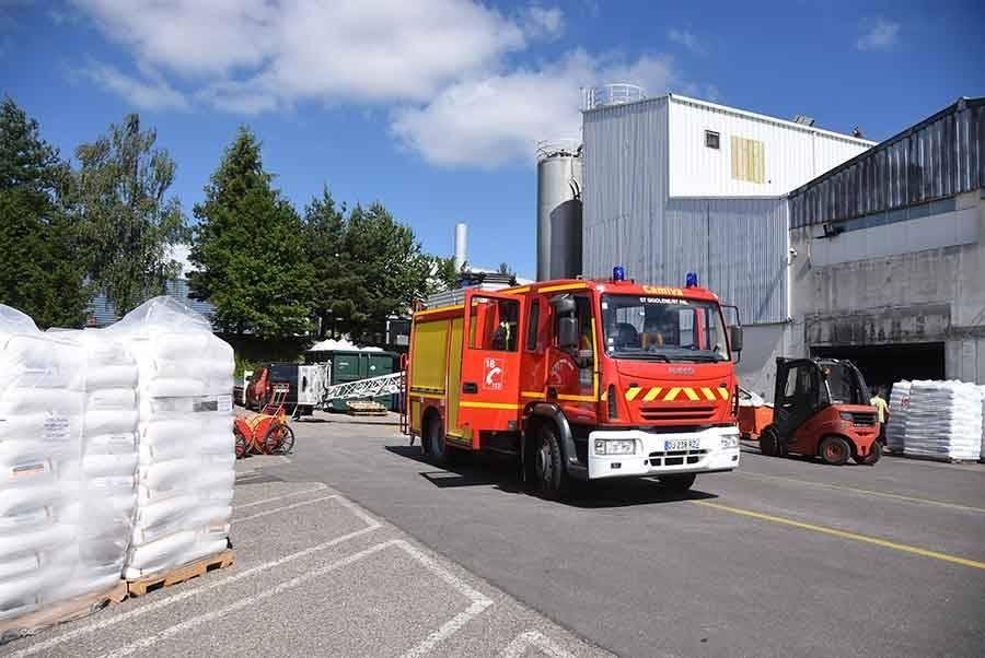 Saint-Pal-de-Mons : une alerte à l'usine AEP Group sur la zone des Pins